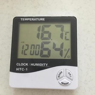 湿度計 温度計 アラーム(置時計)