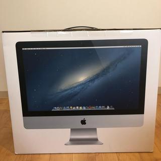 マック(Mac (Apple))の美品 付属品完備 iMac 21.5ンチ Late2012(デスクトップ型PC)
