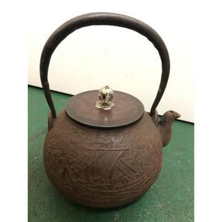 龍文堂 茶瓶(金属工芸)