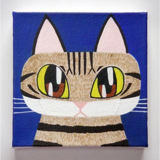 【アクリル画】【絵画】【アート】猫の肖像画2018(アート/写真)