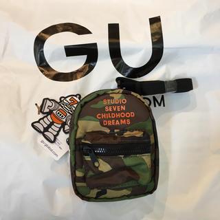 GU - GU スタジオセブン 新品未使用 迷彩柄 ミニショルダーウォレット
