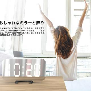 USB電源ポート多機能デジタル時計 256(置時計)