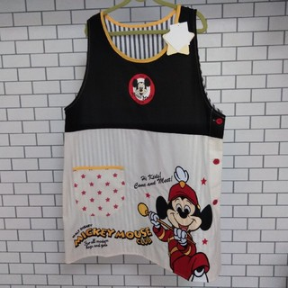 ディズニー(Disney)の新品タグ付 エプロン ミッキー M〜L(その他)