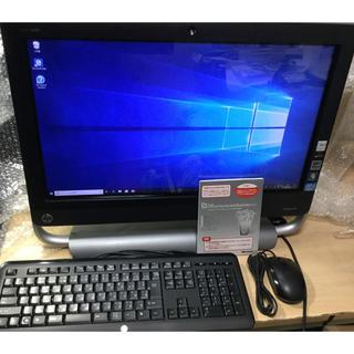ヒューレットパッカード(HP)の中古・美品!23インチ、タッチHP TouchSmart PC 520-1160(デスクトップ型PC)