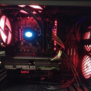 水冷ゲーミングPC i79700k RTX2080 メモリ16GB win10(デスクトップ型PC)