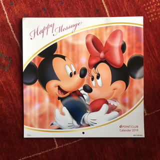 ディズニー(Disney)のディズニー カレンダー 2019年 壁掛け(カレンダー/スケジュール)
