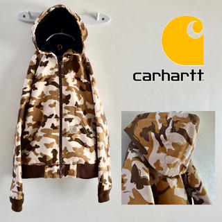 カーハート(carhartt)の売約済 carharttバタフライカモ  コットンダック アノラックパーカー/M(パーカー)