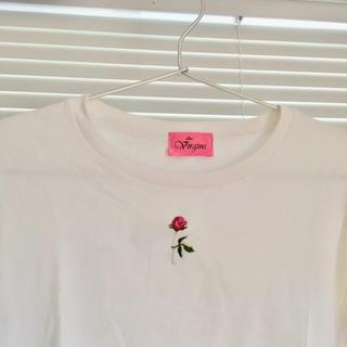 カンナビス レディース(CANNABIS LADIES)のthe virgins rose tシャツ(Tシャツ(半袖/袖なし))