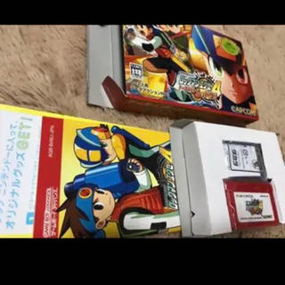 ゲームボーイアドバンス(ゲームボーイアドバンス)のロックマンエグゼ4(家庭用ゲームソフト)