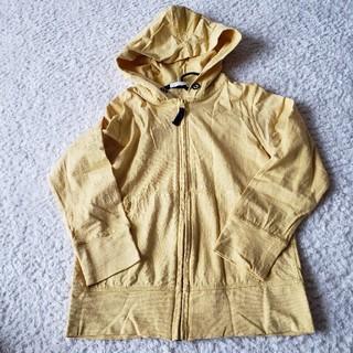 ジーユー(GU)のgu 黄色パーカー 120㎝(ジャケット/上着)