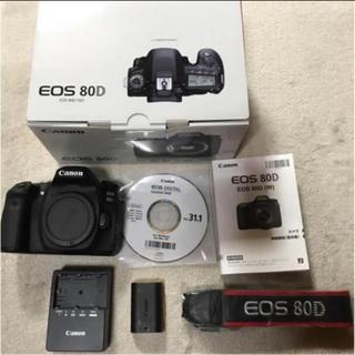 Canon - Canon 80D 一眼レフ 一眼カメラ