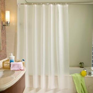 超人気!シャワー 浴室カーテン 防水 防カビ 180*180(タオル/バス用品)