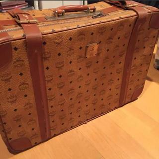 エムシーエム(MCM)のMCM ヴィンテージ トランク スーツケース エムシーエム 美品 レア(スーツケース/キャリーバッグ)