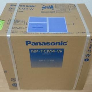 パナソニック(Panasonic)の新品未開封品 Panasonic プチ食洗機 NP-TCM4-W (保証書付)(食器洗い機/乾燥機)