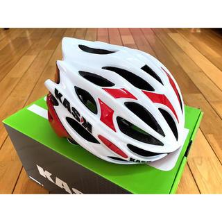 《新品未使用》ロードヘルメット KASKカスク MOJITO Rosso(ヘルメット/シールド)