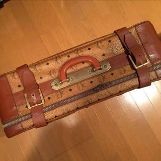 エムシーエム(MCM)の価格交渉可 レア MCM スーツケース ヴィンテージ トランク 美品(トラベルバッグ/スーツケース)
