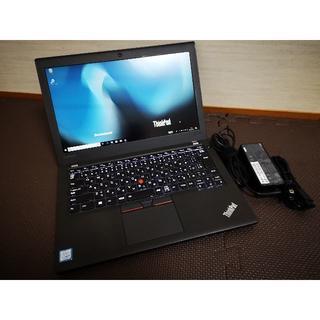 レノボ(Lenovo)のThinkPad X270/Office2019/フルHD(ノートPC)