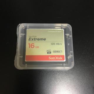 サンディスク(SanDisk)の【新品】コンパクトフラッシュ 16GB(デジタル一眼)