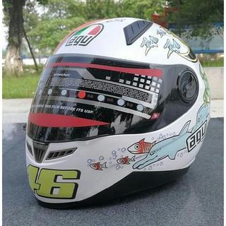 AGVヘルメット バイクヘルメット フルフェイスヘルメット サイズ:L(ヘルメット/シールド)