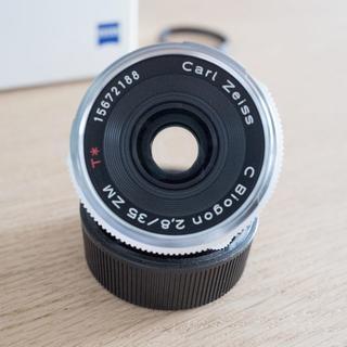 ライカ(LEICA)のZEISS C Biogon T* 2,8/35 ZM カールツァイス ビオゴン(フィルムカメラ)