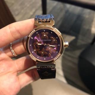 ルイヴィトン(LOUIS VUITTON)の极美品 LOUIS VUITTON クォーツ 腕時計 ルイヴィトン レディース(腕時計)