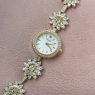 ケイトスペードニューヨーク(kate spade new york)のkate spade❇️デイジークリスタル 華奢ウォッチ(腕時計)