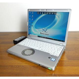 パナソニック(Panasonic)の美品 超軽量レッツノート CF-SZ5 Core i5 SSD 8GB(ノートPC)