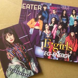 イーガールズ(E-girls)の鷲尾伶菜 トレカ付き ミュージックカード(ミュージシャン)