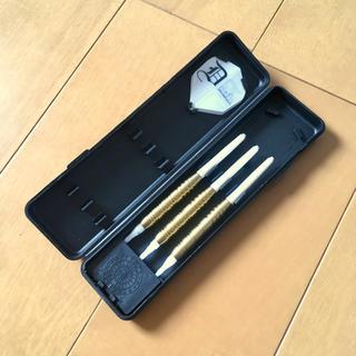 ダーツ 矢 3本セット ケース付き 未使用(ダーツ)