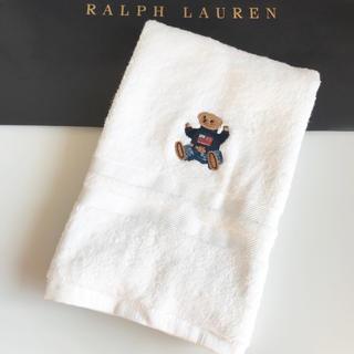 ラルフローレン(Ralph Lauren)のPOLOベア♥ラルフローレン♥ふかふかタオル♥バス ハンド♥セーターベア(タオル/バス用品)
