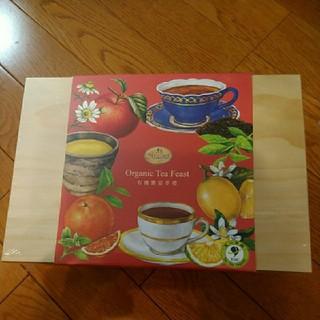 曼寧 台湾茶 オーガニック 紅茶 ハーブティー アソート 木箱入 新品未開封(茶)