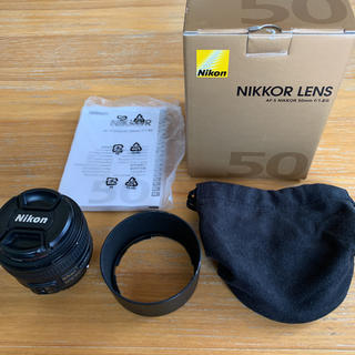 ニコン(Nikon)のNIKKOR NIKON f1.8 50mm ニコン(レンズ(単焦点))