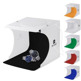撮影ボックス LEDライト40PCS 6色(その他)
