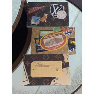 ルイヴィトン(LOUIS VUITTON)のルイヴィトン 非売品 ポストカード 2枚セット(ノベルティグッズ)