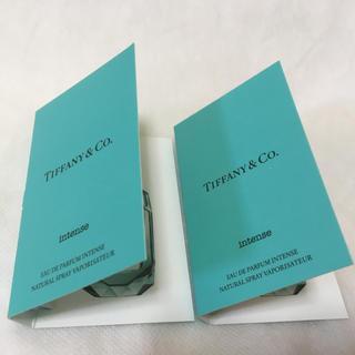 ティファニー(Tiffany & Co.)の新品 ティファニー インテンス ミニ香水オードパルファム 1.2mlx2本セット(香水(女性用))