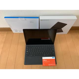 マイクロソフト(Microsoft)の☆人気ブラック☆ Surface Pro 6 タイプカバー & Office(ノートPC)