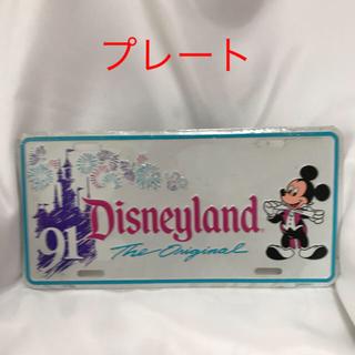 ディズニー(Disney)の【新品未使用】プレート Disneyland(ウェルカムボード)