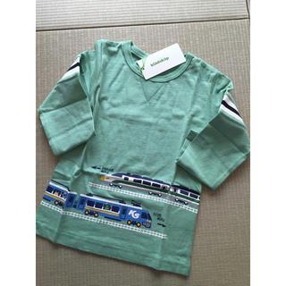 クレードスコープ(kladskap)のkladskap 時空トレイン 110グリーン(Tシャツ/カットソー)