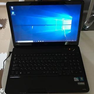 エヌイーシー(NEC)の LS150/D  (win10)   ※Microsoft Officeなし(ノートPC)