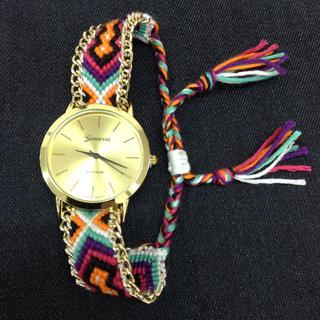 ミサンガ 腕時計(腕時計)