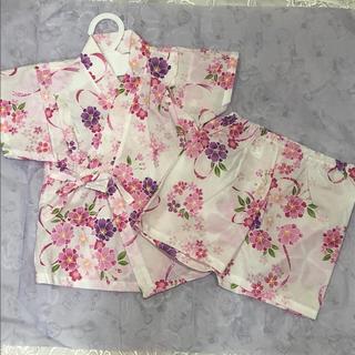 ニシマツヤ(西松屋)の浴衣 甚平 80(甚平/浴衣)