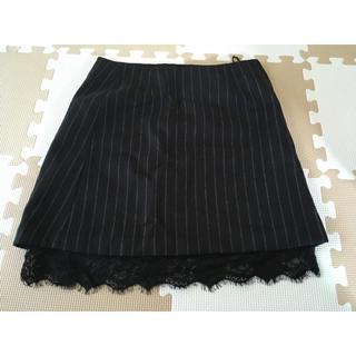 ジーユー(GU)のひざ丈スカート(ひざ丈スカート)