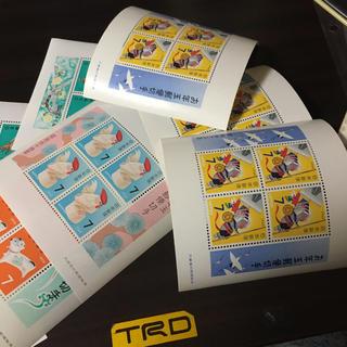 お年玉切手小型シート(切手/官製はがき)