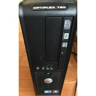 中古パソコン OPTIPLEX 780 メモリ8GB  HDD1TB(デスクトップ型PC)