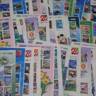 20世紀デザイン切手【29,600円分】計40シート 未使用切手🍒6(切手/官製はがき)