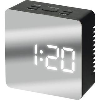 置時計 ミラークロック シンプル 新品 送料無料(置時計)