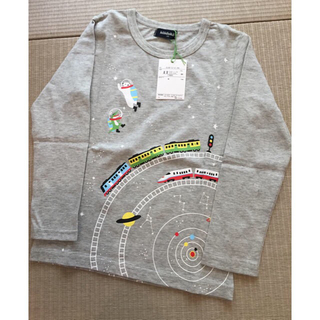 クレードスコープ(kladskap)のkladskap 宇宙 グレー 110(Tシャツ/カットソー)