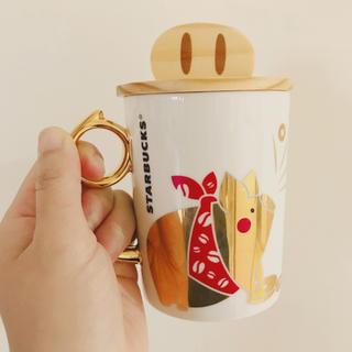 スターバックスコーヒー(Starbucks Coffee)の台湾 スターバックス キャップセット マグカップ(グラス/カップ)