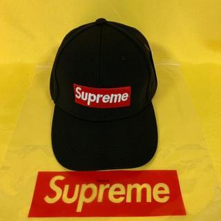 Supreme - supreme キャップ ブラック 新品