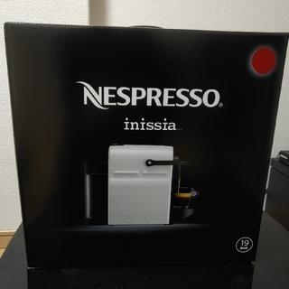 ネスレ(Nestle)のネスプレッソ NESPRESSO inissia(エスプレッソマシン)